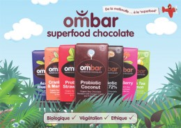 Ombar, chocolat cru, anti oxydant, superfood, superfruit, bio