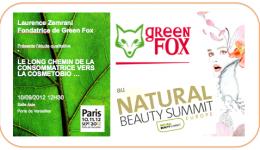 Green Fox : études qualitatives pour les acteurs de la cosmétobio